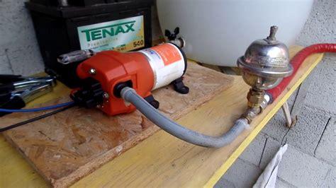 pressione vaso espansione impianto autoclave con pompa 12v con vaso espansione per