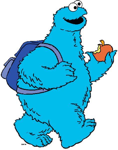 Sesame Street Cookie Monster Clip Art
