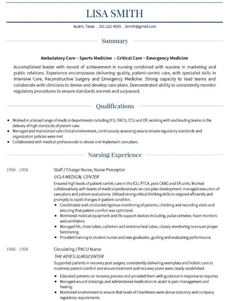 Cv Specimen by 15 Best Cv Exles Guaranteed To Get You Hired