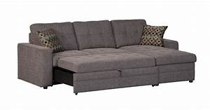Gus collection 501677 coaster sleeper sectional sofa for Gus sectional sleeper sofa