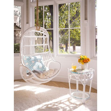 bedroom swing chair indoor hanging chairs all you need to know about it 10697 | Hanging Nattural Rattan Swing Chair
