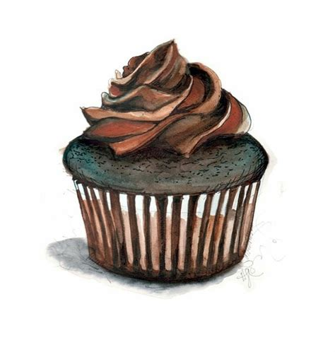 cuisine cupcake cupcake drawing food fooooood cakes i