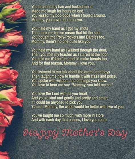 25 Best Mothers Day Poems 2019 To Make Your Mom Emotional