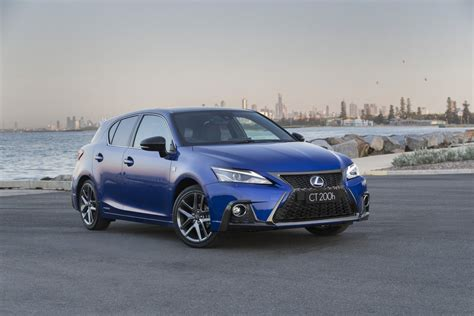 lexus adds style features  safety  ct  hybrid