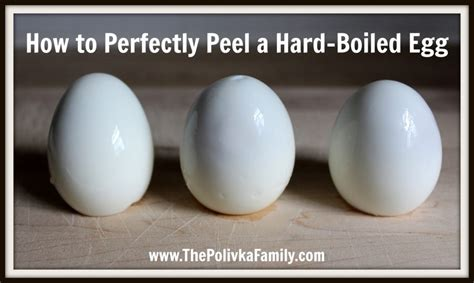 How to Perfectly Peel a Hard-Boiled Egg - Revived Kitchen