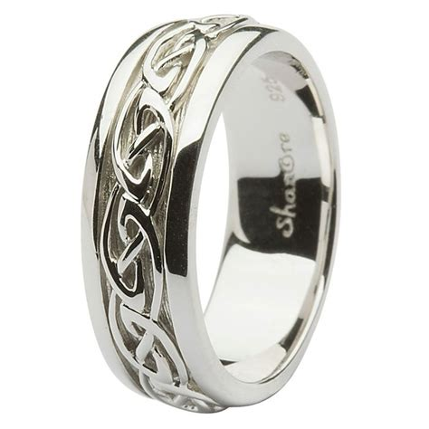 celtic wedding rings silver silver celtic wedding rings wedding and bridal inspiration