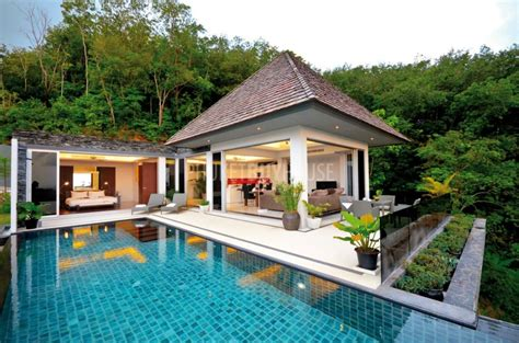 villa moderne de luxe lay4599 two storey villa with three bedrooms near layan phuket buy house
