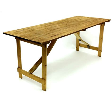Wooden Tables For Sale by Wooden Rustic Trestle Table Hire 6 X 2 6 Trestle Table