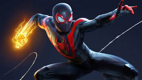 marvel spider man miles morales hd games  wallpapers
