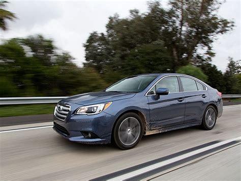 Midsize Sedan Comparison 2015 Subaru Legacy  Kelley Blue