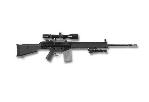 heckler koch hk msg  semi automatic sniper rifle