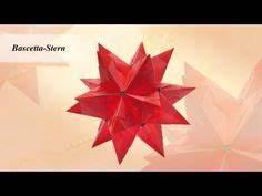 Bascetta Stern Anleitung : origami sterne basteln 3d weihnachtssterne basteln mit papier youtube weihnachten ~ Frokenaadalensverden.com Haus und Dekorationen