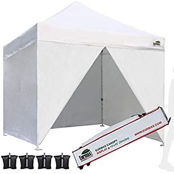 amazoncom eurmax pop canopy commercial tent outdoor instant canopies party shelter