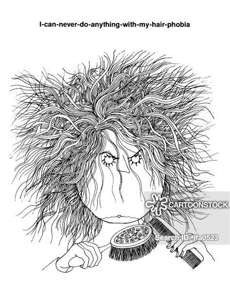 messy hair cartoons  comics funny pictures