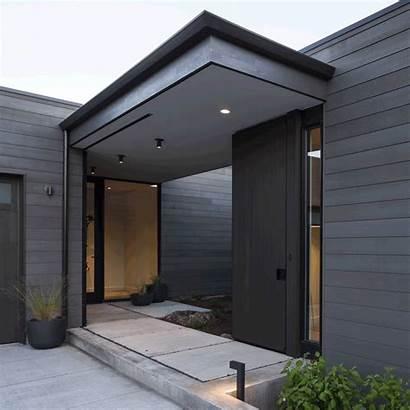 Desert Minimalist Entrance Simple Door Doors Contemporary