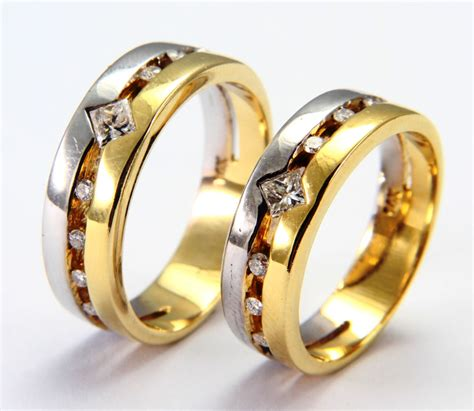 jewelers wedding rings for wedding rings from white and yellow gold ipunya