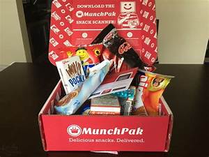 Munchpak Subscription Box Review