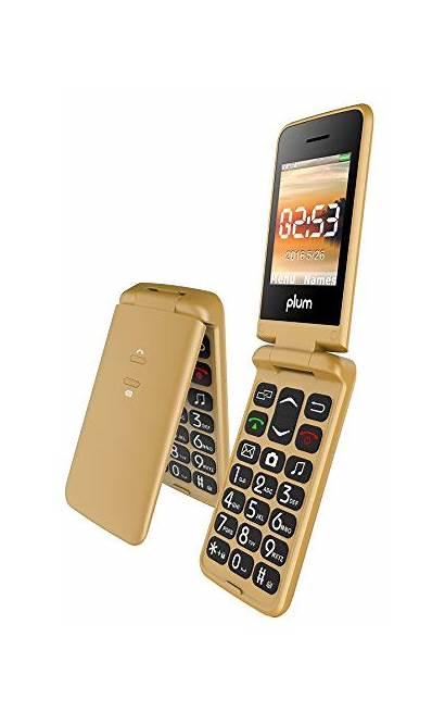 Mobile Keypad Phones Plum Flipper Flip Phone