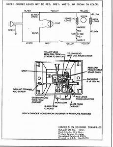 Columbia Bench Grinder Wiring Diagram