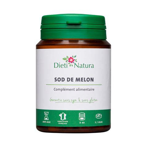 SOD de Melon Extramel 60 et 200 Comprimés Dieti Natura