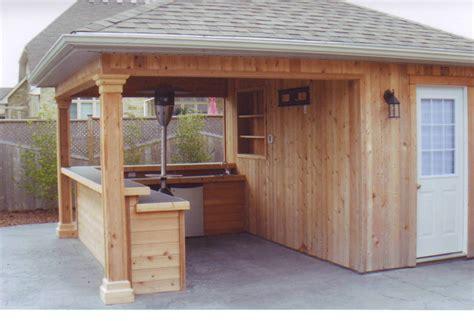 cuisine de plein air backyard bar shed ideas build a bar right in your