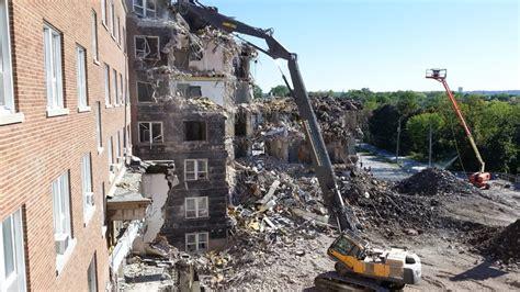 hotel deau hospital st catharines hospital demolition
