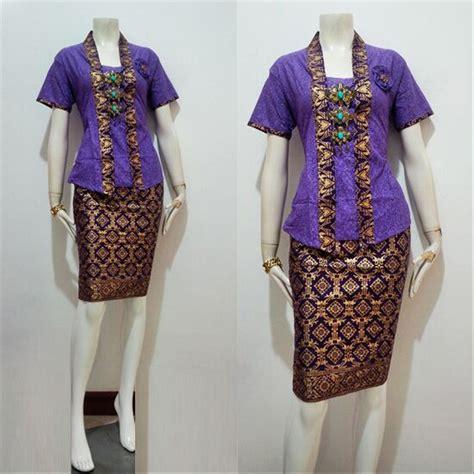 jual baju batik kebaya wanita modern model yahlan seragam