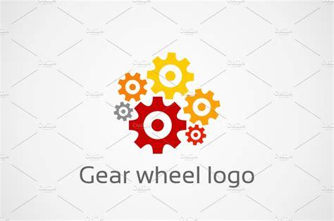 gear wheel logo logo templates creative market
