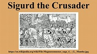 Sigurd the Crusader - YouTube