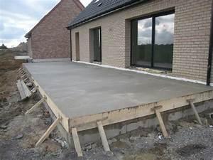 construire une terrasse en beton en hauteur daiitcom With terrasse en hauteur beton