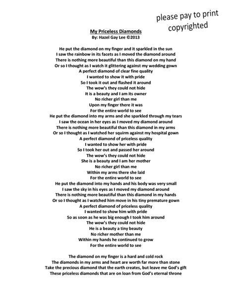 wedding ring poem wedding ideas