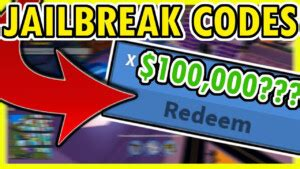 To redeem codes, you will need to look for atms inside the game. JAILBREAK SEASON 3 BRAND NEW CODES YouTube - JailBreakCodes.com
