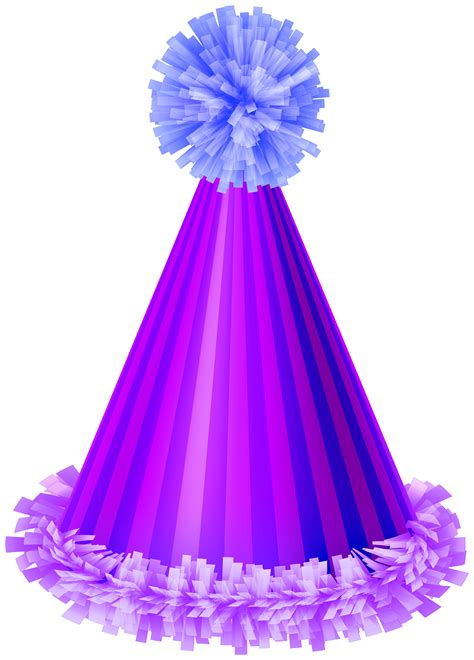 purple party hat clip art image gallery yopriceville high quality