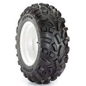 Carlisle AT489 25X8.00-12/4 Rec Golf ATV Tire, Black