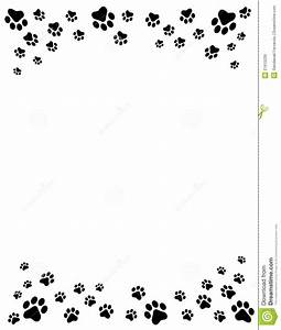 free cat clip art | Cat And Free Dog Clip Art Borders Paw ...