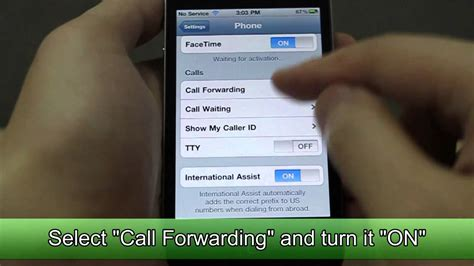 how to forward an iphone how to set call forwarding on apple iphone 4