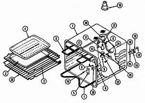 Jenn-air W2750w Electric Wall Oven Timer