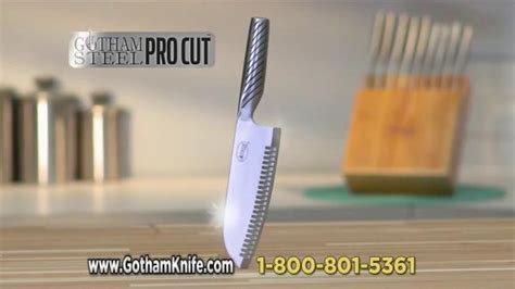 gotham steel pro cut tv commercial perfectly balanced featuring graham elliott ispottv
