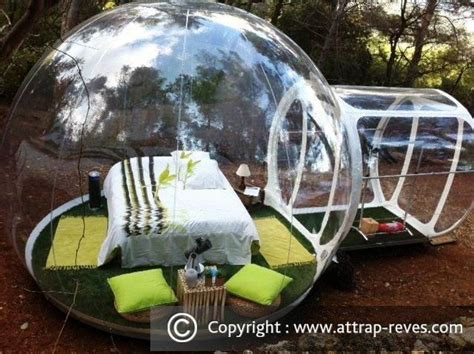 chambre bulle dans la nature attrap 39 rêves hotel at puget ville for an
