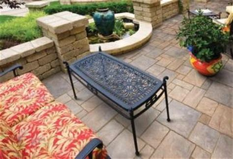 unilock pavers kushners garden patio