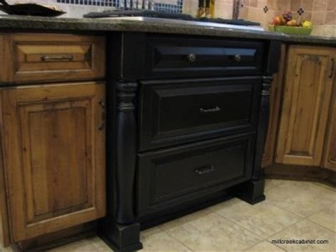 kitchen cabinets with legs black kitchen cabinet w legs furniture and decor pinterest