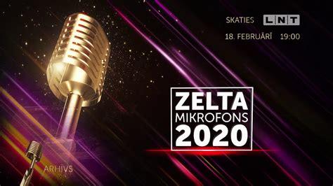 Zelta Mikrofons 2020 - promo - YouTube
