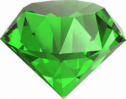 Emerald Diamond Stone Transparent Gems Icon Jewelry