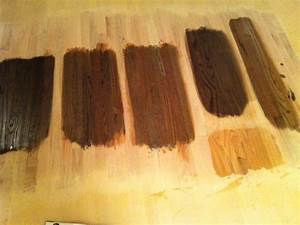 Oak Wood Stain Color Chart Different Stain On Yellow Oak Floors Floor Stain Wood