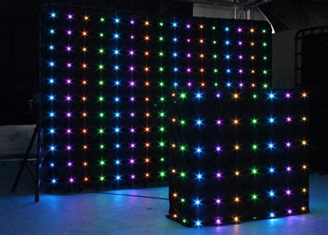china led curtain led vision curtain dj ko 203vd