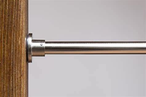 roomdividersnow brushed nickel tension curtain rod 66in