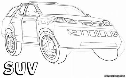 Suv Coloring Pages Suv1