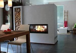 Kamin Als Raumteiler : 14 moderne kamine kamine protokolle und modern ~ Michelbontemps.com Haus und Dekorationen