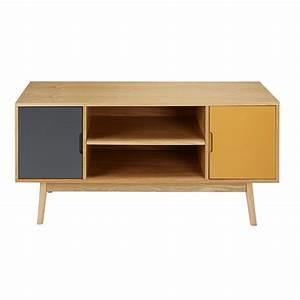 les 25 meilleures idees de la categorie meuble tv pivotant With meuble tv maisons du monde 0 meuble tv vintage 2 portes tricolore paulette maisons du