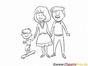 Bild Malen Lassen : junge familie bild schwarz wei zum drucken malen ~ Orissabook.com Haus und Dekorationen